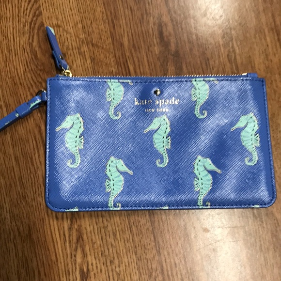 kate spade Handbags - Kate Spade Seahorse Wristlet